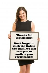 Thanks for registering!