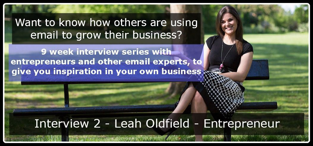 Interview 2 - Leah Oldfield header