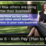 Interview 1 – Darla Kirchner (Creative Biz School)
