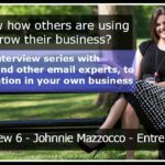 Interview 6 – Johnnie Mazzocco