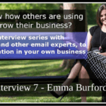 Interview 7 – Emma Burford