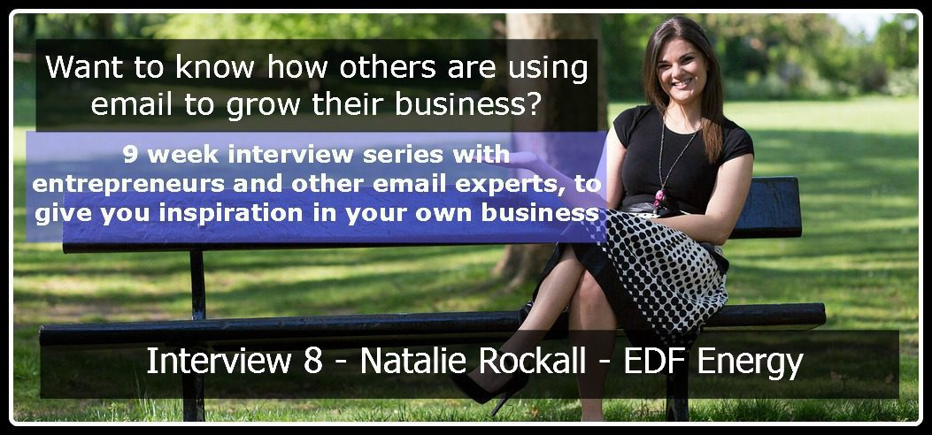 Natalie Rockall, Email Marketing Interview Series