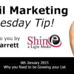 Tuesday Video Quick Tip: Why you need to be Growing your List