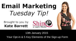 Email marketing video tips