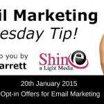 Tuesday Video Quick Tip: Email Opt-in Offers