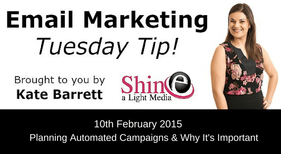 Tuesday Quick Tip Video: Planning Automated Campaigns and Why It's Important