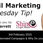 Automated email campaigns video tip