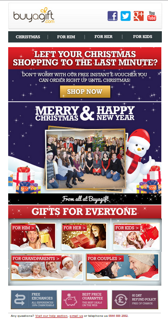 BuyagiftXmas email 2 vouchers