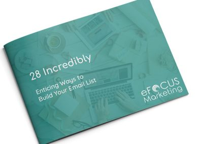 28 Ways to Build Your Email List