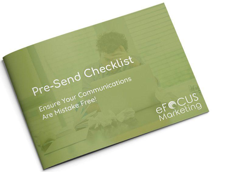 Pre-Send Checklist