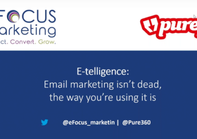 Pure360: Email Marketing Isn't Dead, the Way You're Using It Is!