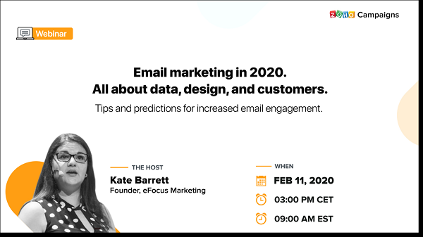 Email Marketing 2020 Predictions/Trends – webinar replay