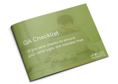 QA Checklist – 21 pre-send checks to ensure your campaigns are mistake free