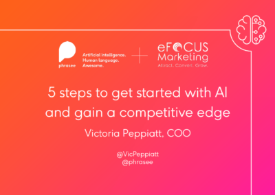 5 steps to get started with AI and gain a competitive edge